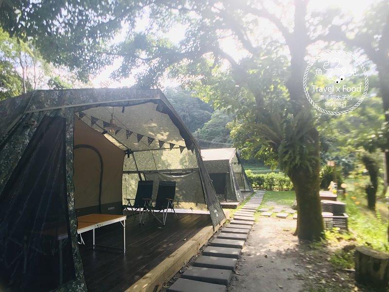 (三露)與天然環境共處的時光,「一畝田」親子露營區,一起野放趣! @魚兒 x 牽手明太子的「視」界旅行