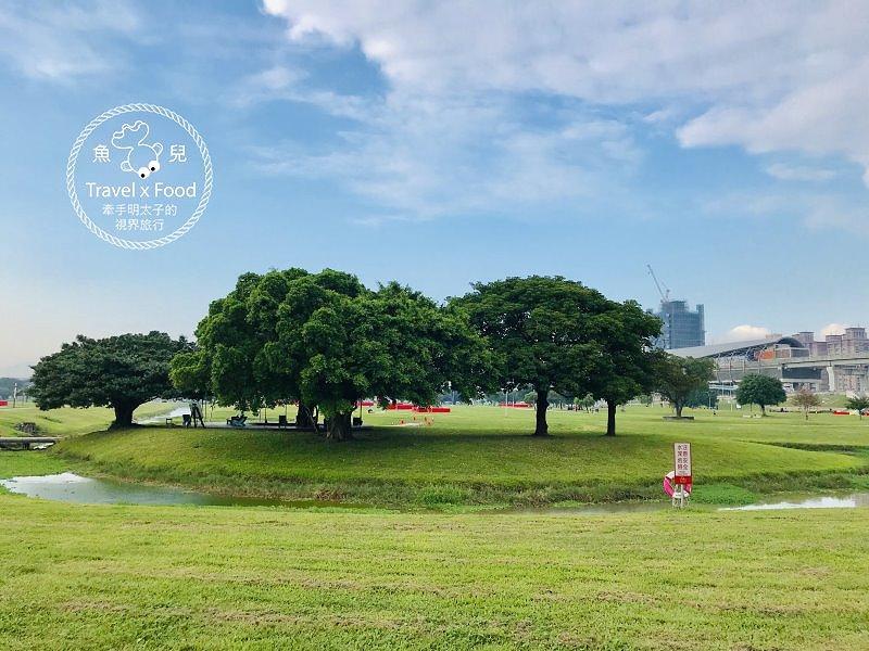台北三重大都會公園~小小兵出沒:迷彩服半日體驗營,天氣再熱依舊帥氣登場! @魚兒 x 牽手明太子的「視」界旅行