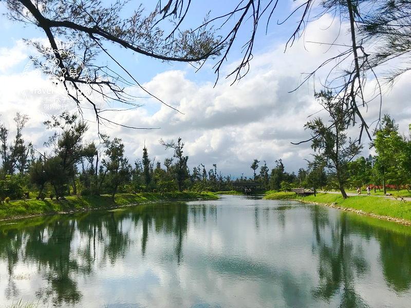 台東森林公園(琵琶湖、海濱公園)|絕美自行車道,騎車觀景好悠閒~ @魚兒 x 牽手明太子的「視」界旅行