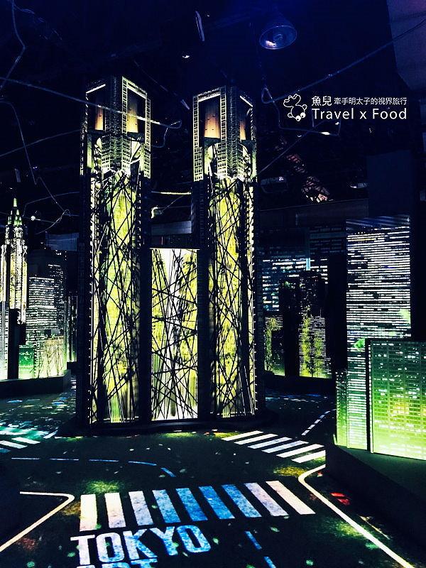 【展】TOKYO ART CITY 光影東京~夢幻視覺系特展 @魚兒 x 牽手明太子的「視」界旅行