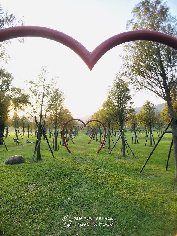 【遊】大溪河濱公園|綠地、生態濕地與休閒 @魚兒 x 牽手明太子的「視」界旅行