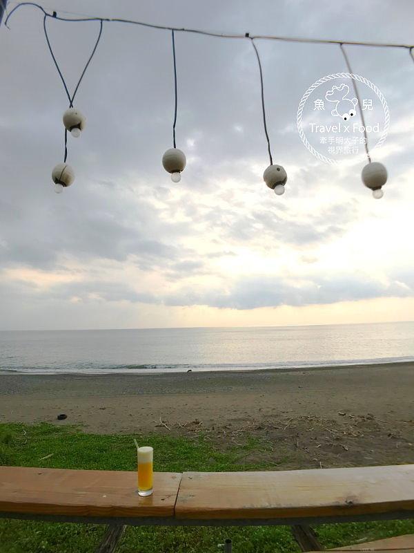 好樂杯冰|觀踏浪、踩沙、休憩、賞夕陽,帶孩子放空的好去處 @魚兒 x 牽手明太子的「視」界旅行