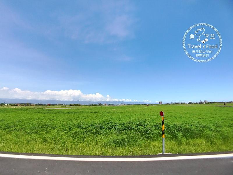 宜蘭版伯朗大道|觀稻浪賞綠毯,讓我們散步去! @魚兒 x 牽手明太子的「視」界旅行