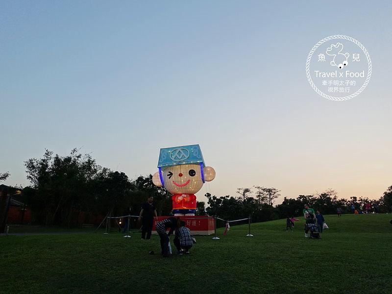 【遊】國立傳統藝術中心|全台最美燈會「魚躍隧道」,適休閒賞景、傳統藝術、遊河、童玩、小吃,愈夜愈美麗 @魚兒 x 牽手明太子的「視」界旅行