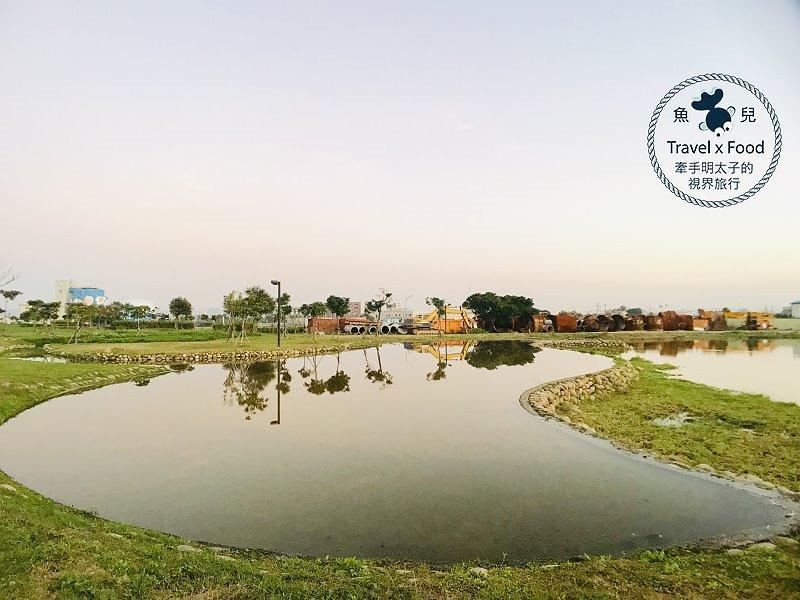 通過環境教育設施場所認證的桃園北區水資源回收中心,全家動員散步去! @魚兒 x 牽手明太子的「視」界旅行