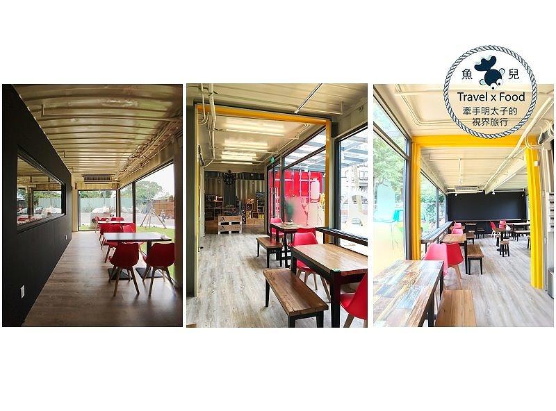【食】桃園◆玩樂磚家|手工披薩、列車送餐服務、樂高體驗 @魚兒 x 牽手明太子的「視」界旅行