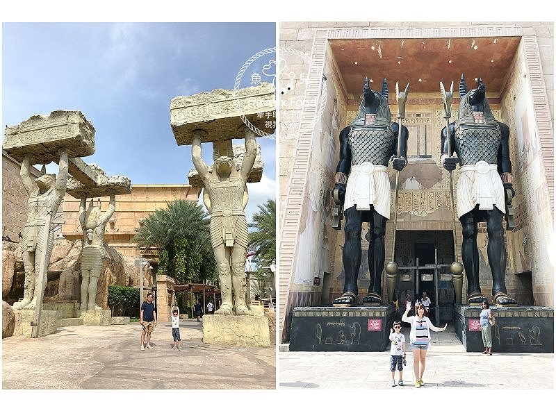 亞洲第二,新加坡環球影城|七大主題小孩大人輕鬆玩 @魚兒 x 牽手明太子的「視」界旅行
