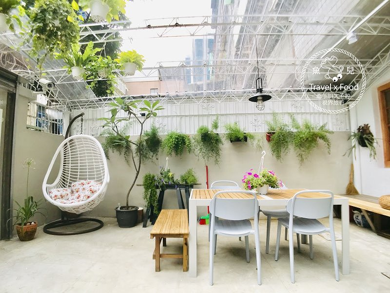 Fussen Coffee 福森院子|早午餐、舒芙蕾熱鬆餅 @魚兒 x 牽手明太子的「視」界旅行