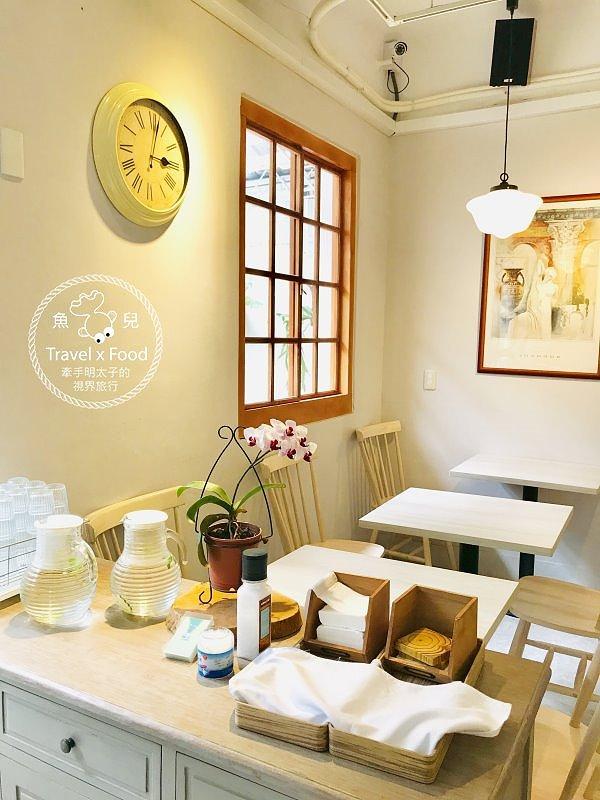 【食】桃園◆ Fussen Coffee 福森院子早午餐、舒芙蕾熱鬆餅 @魚兒 x 牽手明太子的「視」界旅行