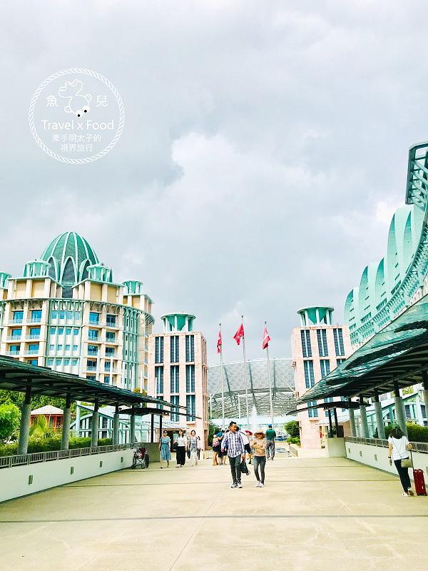 聖淘沙名勝世界:節慶酒店|吃喝玩樂全包辦,玩好玩滿so easy!! @魚兒 x 牽手明太子的「視」界旅行