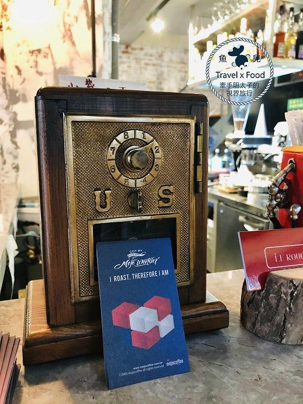 英倫工業風,美義料理、咖啡與餐酒,來【紅盒子LE ROUGE】輕鬆坐,痛快吃,暢快飲! @魚兒 x 牽手明太子的「視」界旅行