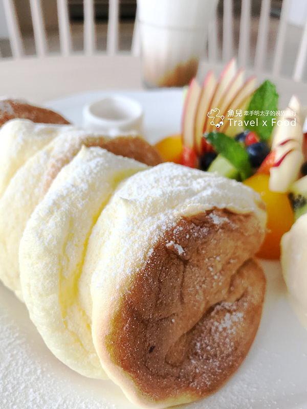 翻轉甜點|厚鬆餅吃出甜點新高度! @魚兒 x 牽手明太子的「視」界旅行