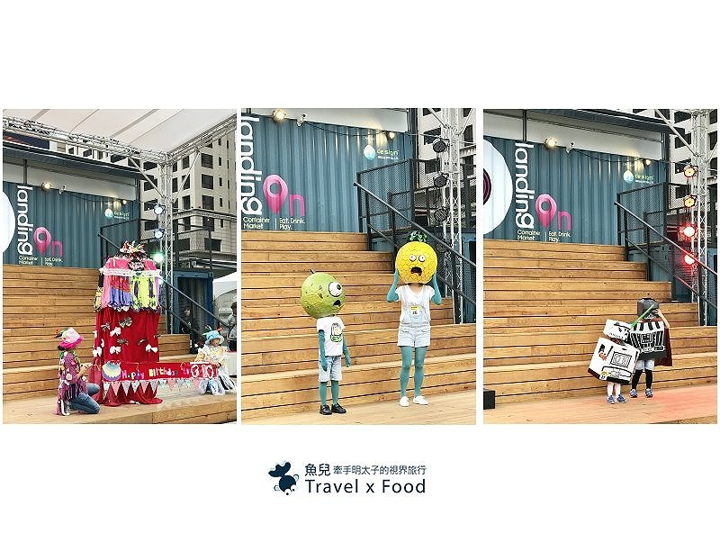 IG 打卡熱點|兼具美食與市集,桃園 G10 GO 彩色貨櫃全新登場! @魚兒 x 牽手明太子的「視」界旅行