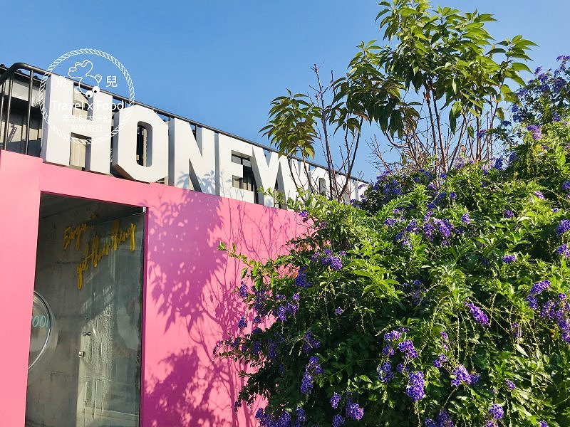 HoneyWood Cafe,陽光與綠地,親子家庭必訪的庭園餐廳,網美也該衝一波 @魚兒 x 牽手明太子的「視」界旅行